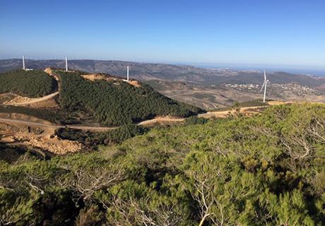 Khalladi Wind Farm CSR Project
