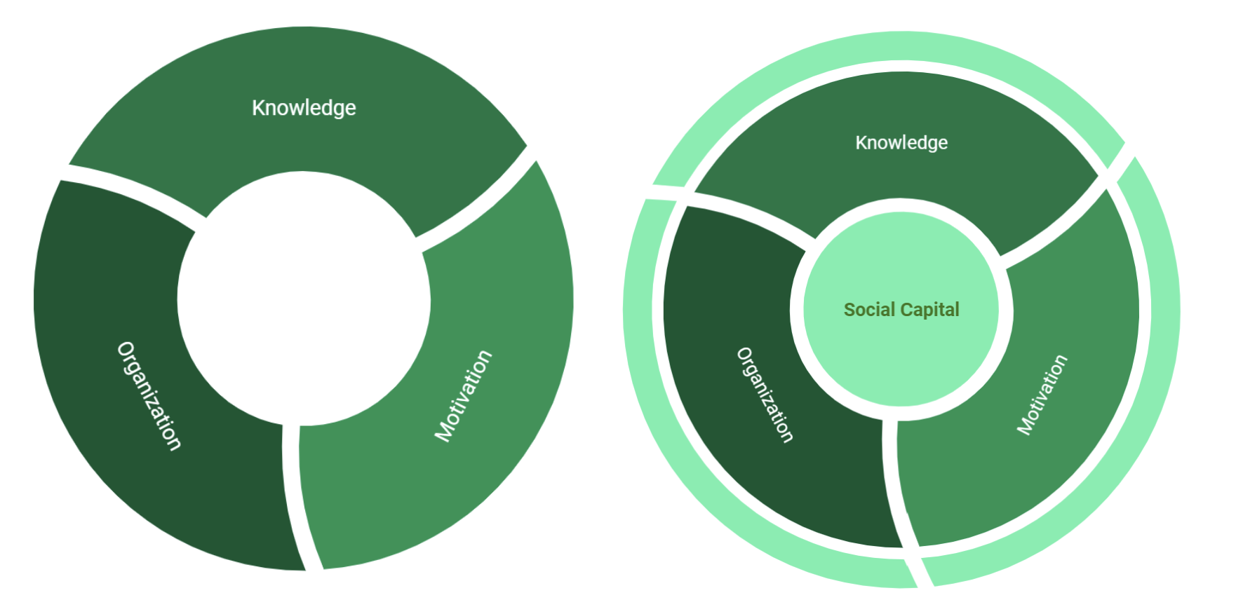 The role of social capital in implementing project-based learning models